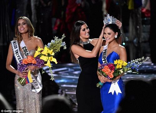 Hồi hộp phút ''MC tội đồ'' Steve Harvey công bố giải Miss Universe 2016 - 2