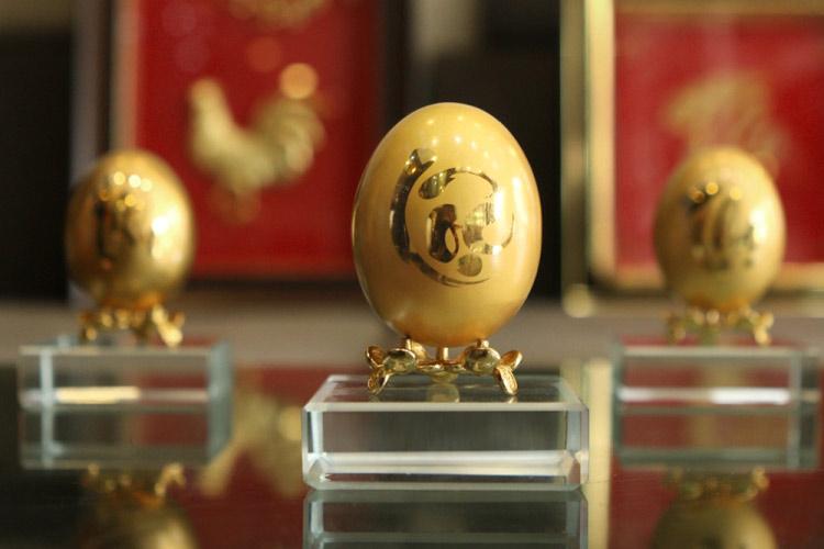Chiêm ngưỡng bộ trứng vàng 30 lượng của đại gia Quảng Ninh - 3
