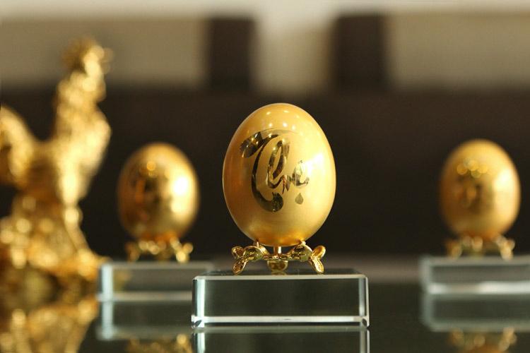 Chiêm ngưỡng bộ trứng vàng 30 lượng của đại gia Quảng Ninh - 4