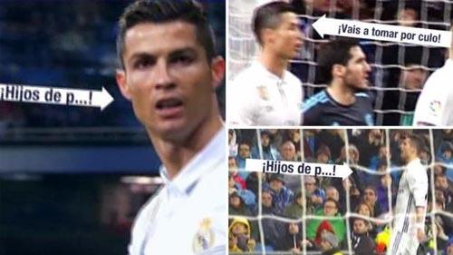 Ronaldo cáu vì bị la ó, chửi tục đáp lại - 1