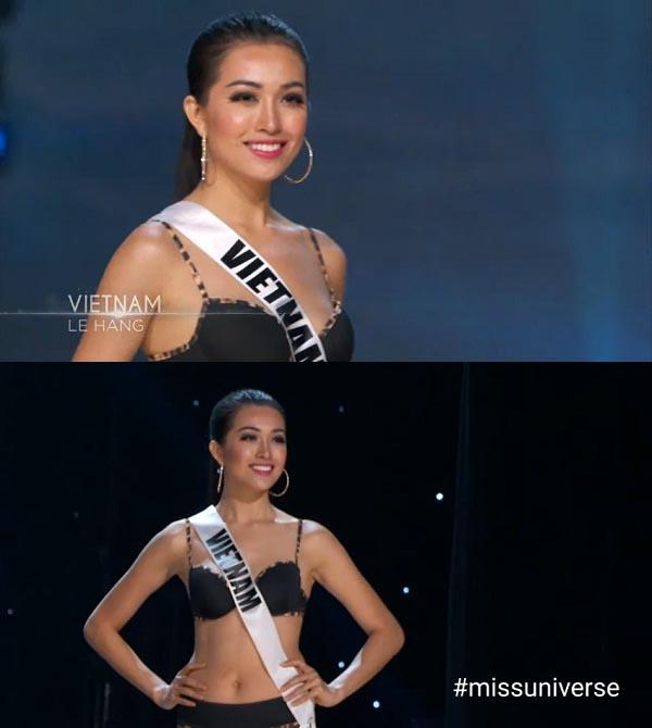 Lệ Hằng vẫn ''tự thưởng'' dù trắng tay tại Miss Universe - 2