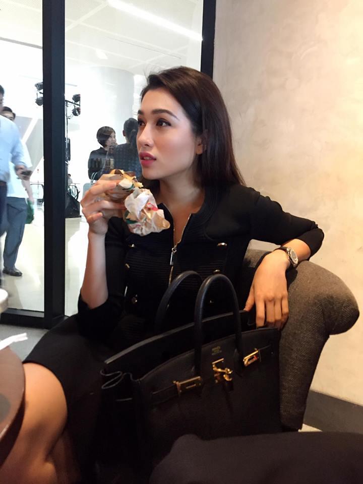 Lệ Hằng vẫn ''tự thưởng'' dù trắng tay tại Miss Universe - 5