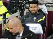 """Bóng đá - Aguero – Man City: Từ """"số 1"""" sắp thành """"zero"""""""