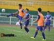 U23 VN: Thầy trò Hữu Thắng – Công Phượng đội mưa tập luyện
