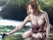 """Bạn trẻ - Cuộc sống - Vẻ đẹp """"mọng nước"""" của thiên thần tắm suối Thái Lan"""