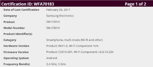 Samsung Galaxy C5 Pro sẽ được tung ra trên toàn cầu - 1