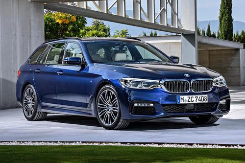 BMW 5-Series Touring hoàn toàn mới ra mắt - 1