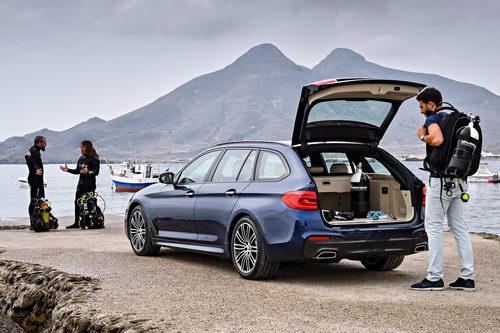 BMW 5-Series Touring hoàn toàn mới ra mắt - 2