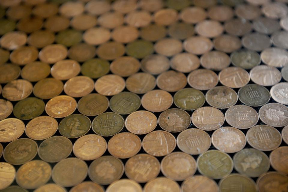 """Sàn nhà bếp """"độc"""" chưa từng thấy lát bằng 27.000 đồng xu - 5"""