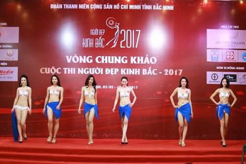 """Ngẩn ngơ loạt """"Người đẹp Kinh Bắc"""" mặc bikini nõn nà - 1"""