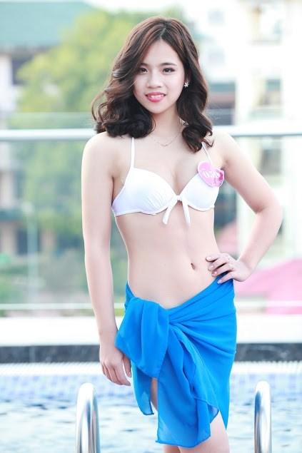 """Ngẩn ngơ loạt """"Người đẹp Kinh Bắc"""" mặc bikini quá nõn nà - 7"""