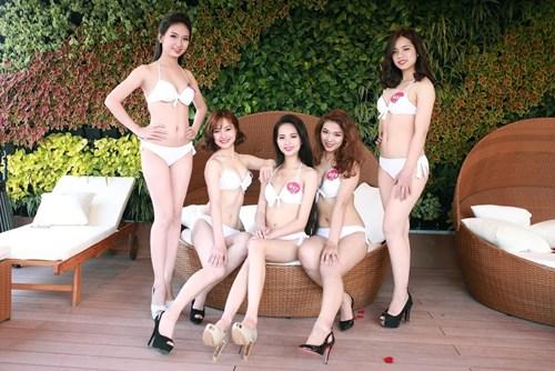 """Ngẩn ngơ loạt """"Người đẹp Kinh Bắc"""" mặc bikini nõn nà - 4"""