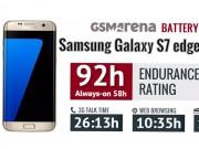 Galaxy S7 Edge bị hao pin khi lên Android 7.0 Nougat