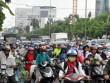"""""""Biển người"""" trên phố Sài Gòn trong ngày vía Thần Tài"""