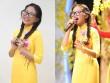 Phương Mỹ Chi diện áo dài hát nhạc Bolero như thiếu nữ