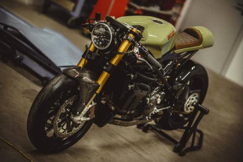 """""""Trẻ hóa"""" Ducati 848 Evo với công nghệ hiện đại - 3"""