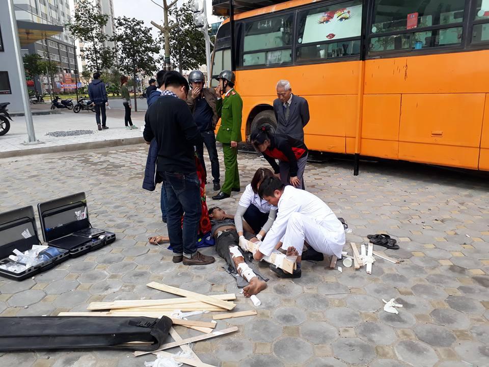 Thùng phuy trang trí quán cafe phát nổ, thợ hàn gãy chân - 1