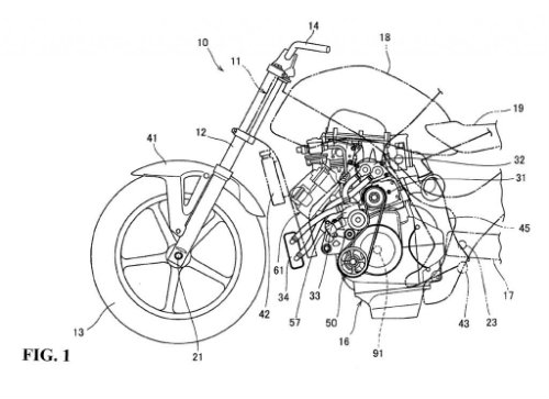 Lộ diện siêu động cơ Honda nhằm hạ bệ Kawasaki H2 - 1