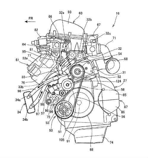 Lộ diện siêu động cơ Honda nhằm hạ bệ Kawasaki H2 - 2