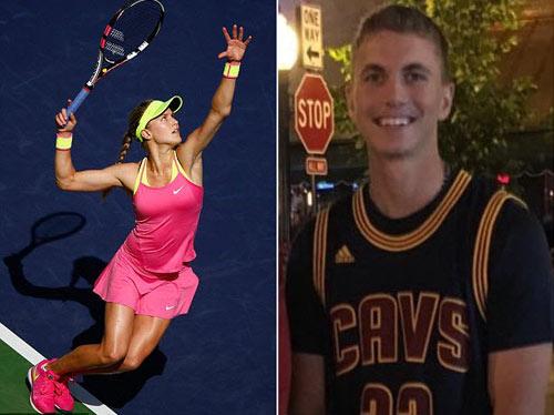 Mỹ nhân tennis Bouchard bất ngờ cặp kè trai lạ - 2