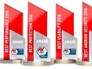 AV-TEST công bố những sản phẩm bảo mật tốt nhất năm 2016