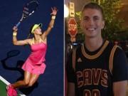 Thể thao - Mỹ nhân tennis Bouchard bất ngờ cặp kè trai lạ