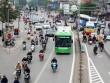 Khách đi buýt nhanh BRT tăng trong ngày đầu tiên thu phí