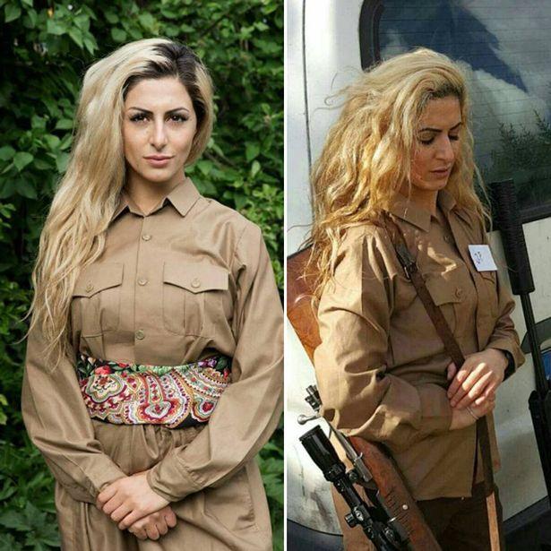 Nữ sinh bắn tỉa hạ 100 phiến quân IS bị săn lùng ráo riết - 4