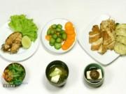 Ẩm thực - Bữa ăn cân bằng dinh dưỡng theo phong cách Nhật Bản