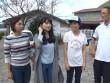 Sĩ Thanh xúc động đến thăm ngôi làng bị động đất tại Nhật