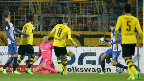 Dortmund - Hertha Berlin: Kịch tính chấm luân lưu - 1