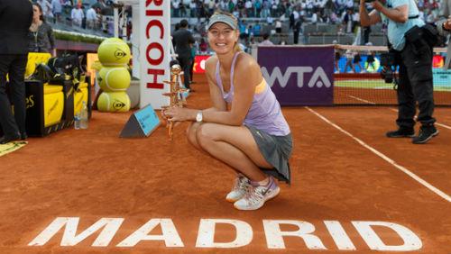 """Sharapova nhận """"món quà"""" bất ngờ ngày tái xuất - 1"""