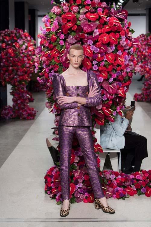 """""""Đỏ mặt"""" với bộ sưu tập phi giới tính tại tuần lễ thời trang - 1"""