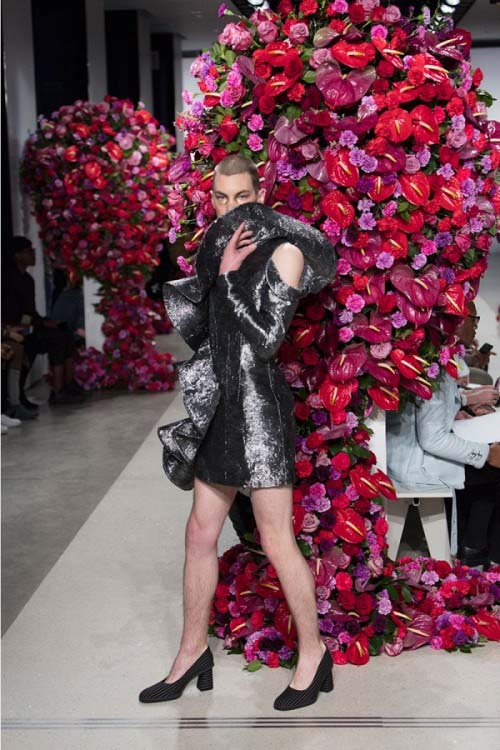 """""""Đỏ mặt"""" với bộ sưu tập phi giới tính tại tuần lễ thời trang - 12"""