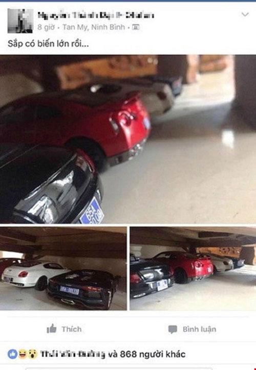 Người đăng ảnh 'siêu xe gắn biển xanh' có bị xử phạt? - 1