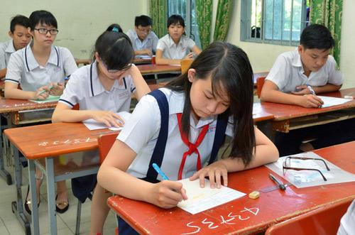 TP HCM: Thi tuyển lớp 10 vào đầu tháng 6 - 1