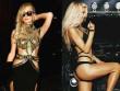 """""""Yêu nữ"""" Paris Hilton tái xuất với vòng 1 to bất thường"""