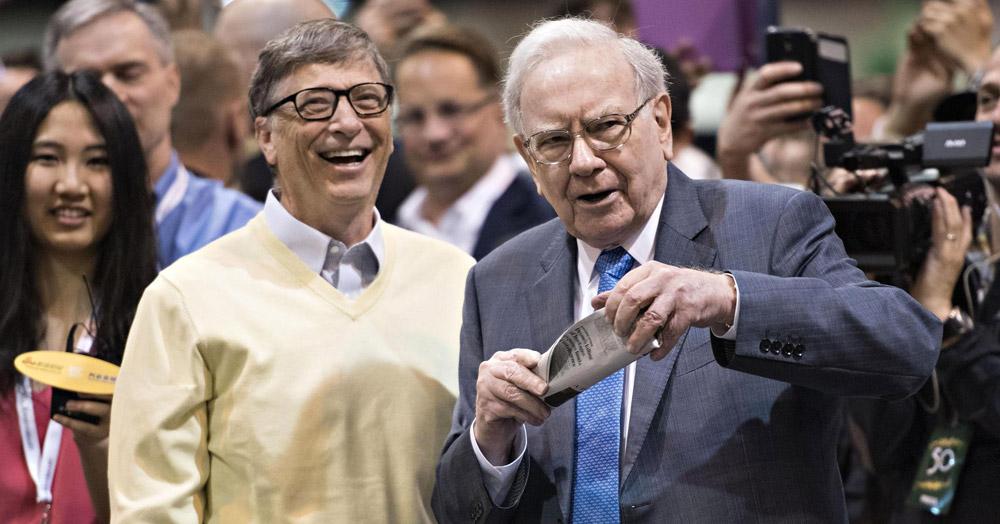 """Bill Gates – Warren Buffett và bài học """"giàu vì bạn"""" - 3"""