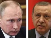 Putin xin lỗi vì máy bay Nga ném bom nhầm lính Thổ Nhĩ Kỳ