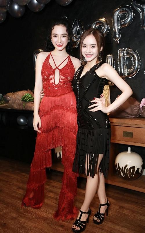 """Phương Trinh, Trương Nhi hở bạo """"bung lụa"""" ngày sinh nhật - 3"""