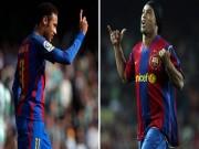"""Neymar vượt Ro """"vẩu, Barca buồn thiu vì Vidal"""
