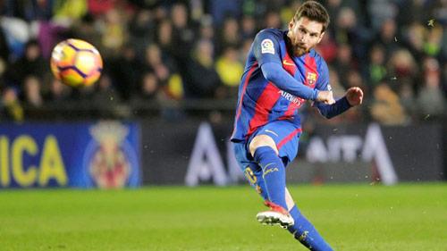 Giải mã bí quyết sút phạt thiện nghệ của Messi - 1