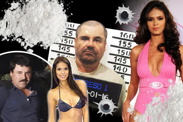 Những người đẹp trong đời trùm ma túy Mexico Chuột chũi - 1