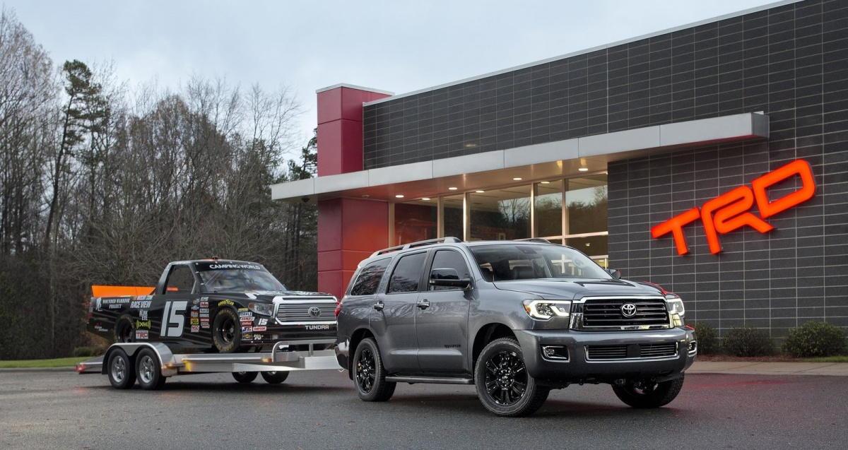 Ngắm các biến thể Toyota Tundra và Sequoia TRD Sport 2018 - 2