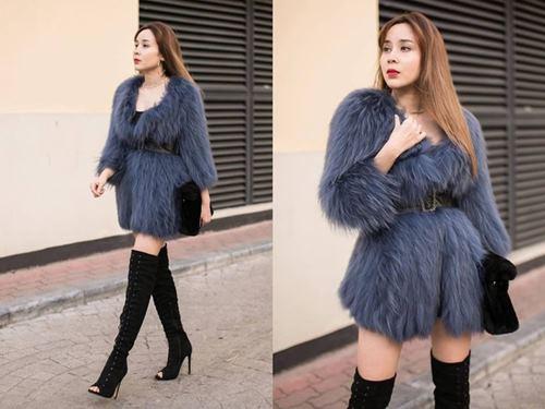 Hoàng Thùy Linh mặc style lạ, lăng xê mốt quần lưới hở eo - 6