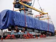 Clip: Cận cảnh tàu Cát Linh-Hà Đông về đến Hải Phòng