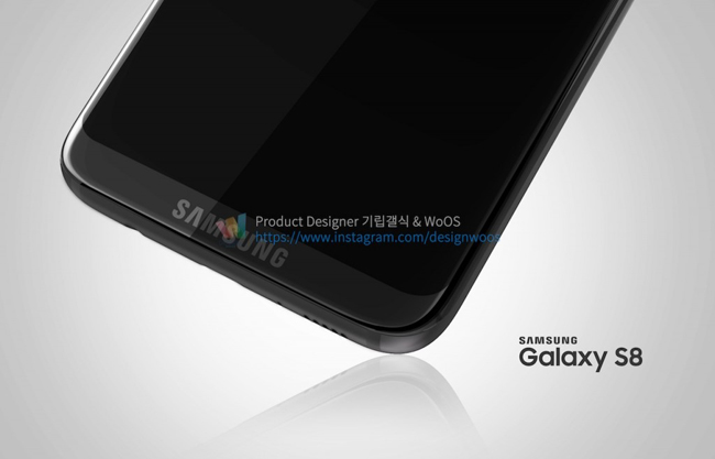 Theo đó, Samsung Galaxy S8 sở hữu thiết kế cao cấp với bộ khung kim loại kết hợp kính ốp hai mặt