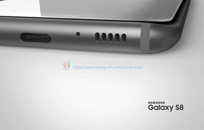Sammobile vừa đăng tải bộ ảnh Samsung Galaxy S8 với nhiều màu sắc khác nhau, cùng những đường nét thiết kế được cho là sát với hình ảnh rò rỉ thời gian qua.