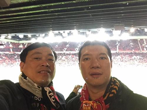 BLV Quang Huy sang Anh xem Manchester United theo cách không ai ngờ đến - 5