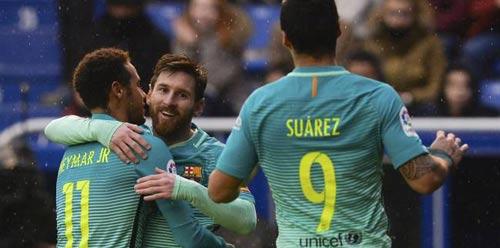 """Vô địch cúp C1: Thống kê """"chọn"""" Barca, loại Real - 1"""